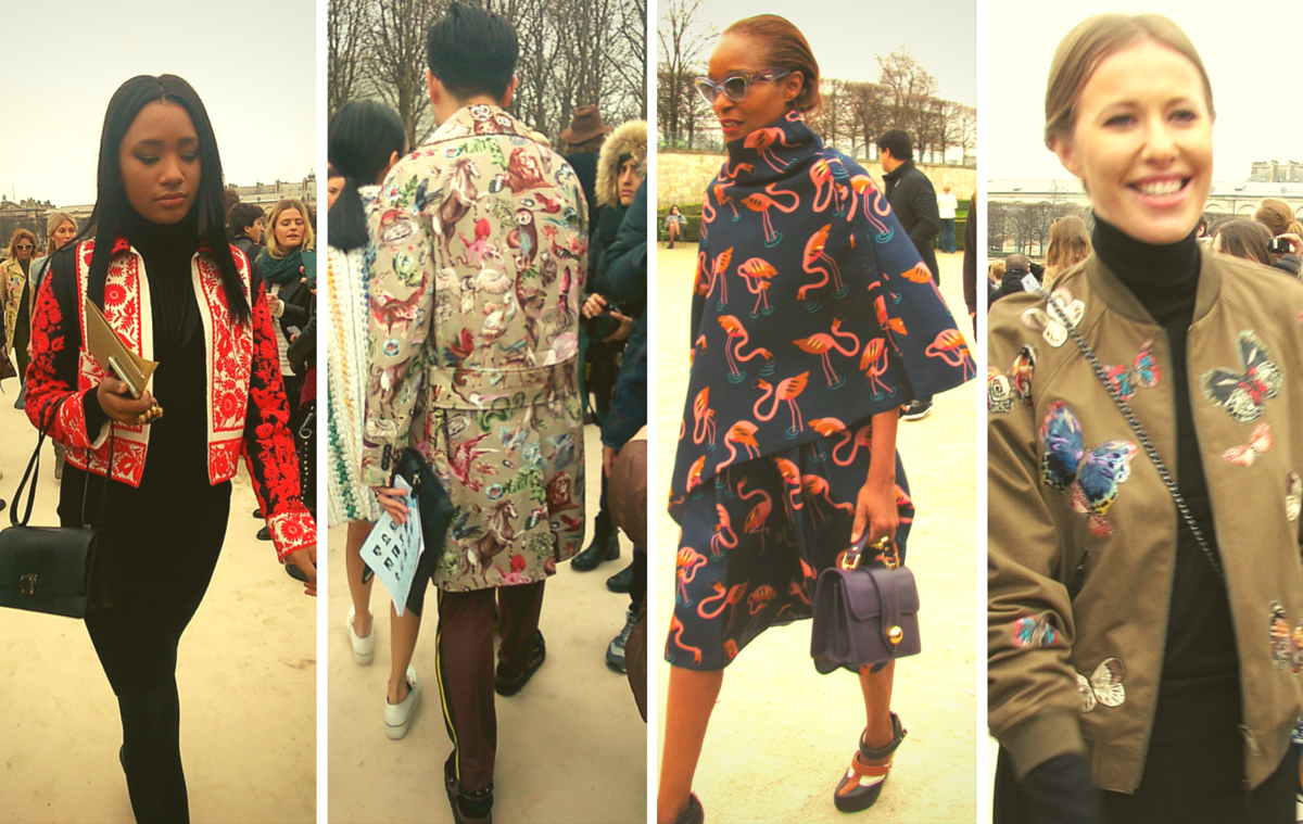 Paris Street Style in Tuileries
