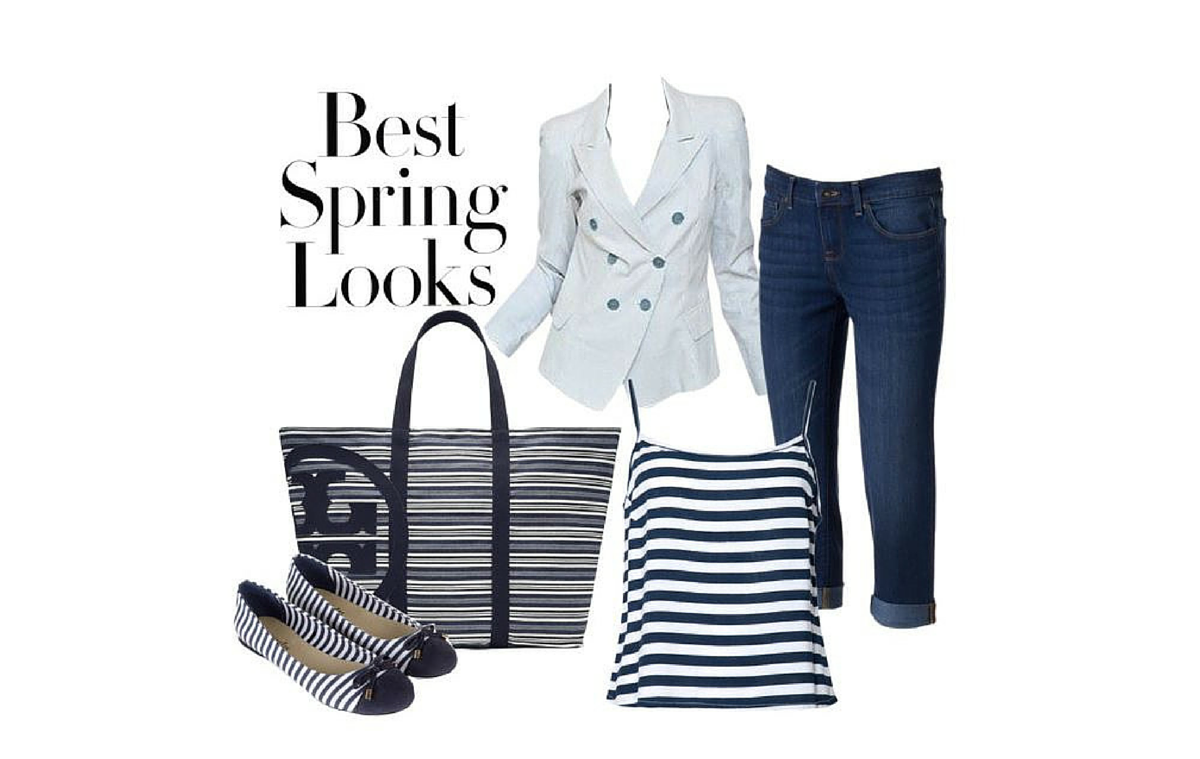 Striped Spring Outift